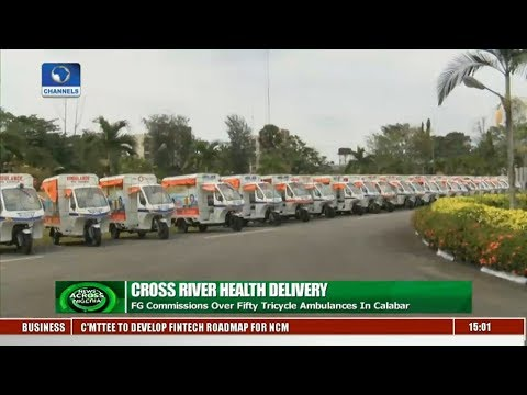FG Commissions Over Fifty Tricycle Ambulances In Calabar