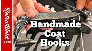 🔴  Handmade Coat Hooks