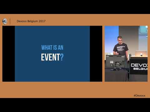 How Events Are Reshaping Modern Systems Jonas Bonér