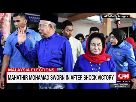 Who is Malaysia's Mahathir Mohammed?