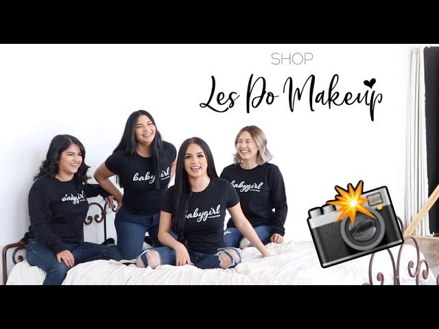 OUR MERCH PHOTOSHOOT! *BTS* 😄
