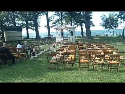 Vermillion On The Lake Tour Ohio Wedding Ceremony And Reception Erie Dj Robert Navarre You
