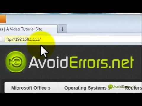 Install, Set Up & Access An FTP On Windows 2008 Server