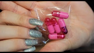 GLITTER PILLS!? Glambot Review and tutorial