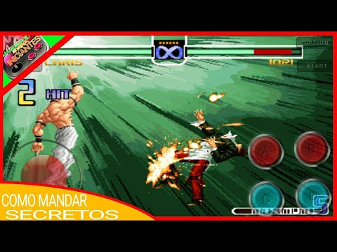 Como Mandar Secretos no The king of fighters 2002 Android #1