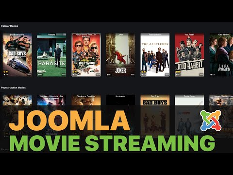 Create Your Own Netflix Website With Joomla NO CODING   Part 2