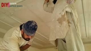 false ceiling banane ka tarika | false ceiling how to make | false ceiling hanging system