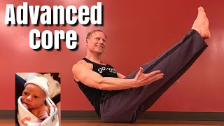 10 Min Advanced Pilates Abs Workout - Sean Vigue Fitness