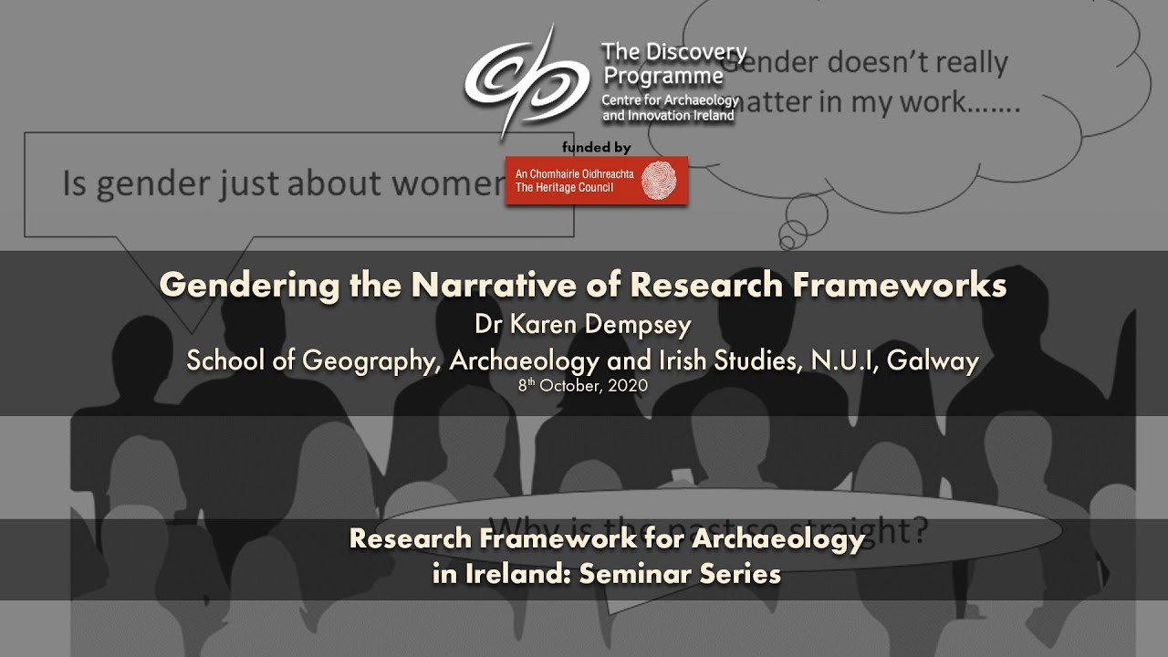 Gendering the Narrative of Research Frameworks – Dr Karen Dempsey (NUI Galway)
