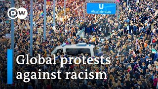 George Floyd killing sparks worldwide protests against racism | DW News