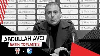 Bş. Bld. Erzurumspor Maçı Sonrası Teknik Direktörümüz Abdullah Avcı'nın Basın Toplantısı