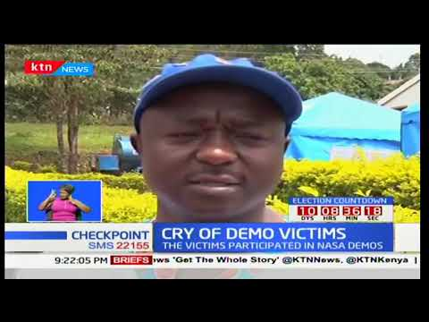 Cry of demo victims after alleged police brutality