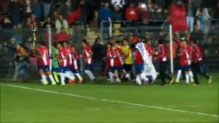 CURANILAHUE CAMPEON SUB 14 EN NACIONAL DE FUTBOL 2016