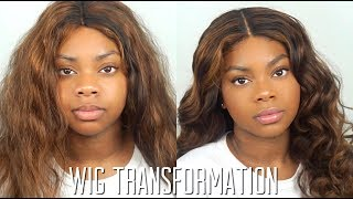 WIG TRANSFORMATION + REVIEW ! ft YeahWigs