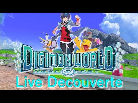 [Rediff] Découverte de Digimon World : Next Order