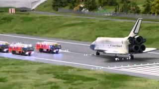 Space Shuttle Atlantis emergency landing at Knuffingen Airport