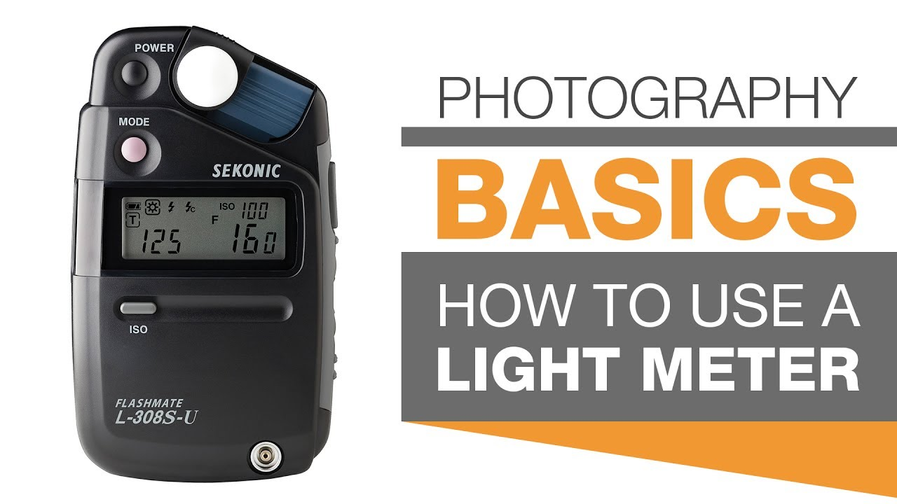 PHOTOGRAPHY BASICS | How To Use A Light Meter