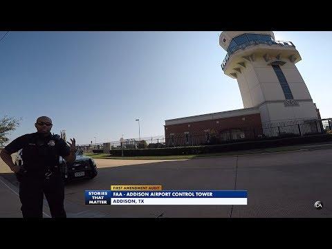 First Amendment Audit - Addison TX Airport - FAA