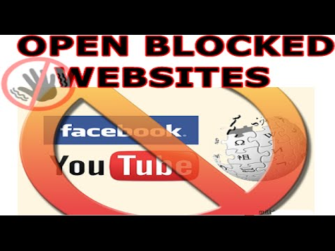 How to access blocked sites no download 2016 how to open blocked sites easily without proxy and download 2016 ccuart Gallery