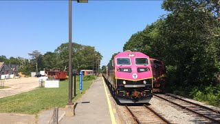 MBTA Cape flyer #2036 to Hyannis in West Barnstable
