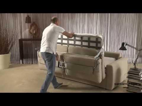 Materassi Divano Letto Roma.Divano Letto Federica Con Materasso Da 18 Cm Federica Sofa Bed