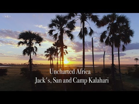 Uncharted  Africa -  Jacks, San and Camp Kalahari Luxury Safari Camp Botswana