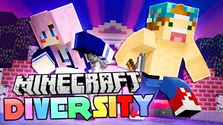 MINECRAFT DIVERSITY 2 WITH LIZZIE! | Diversity #1