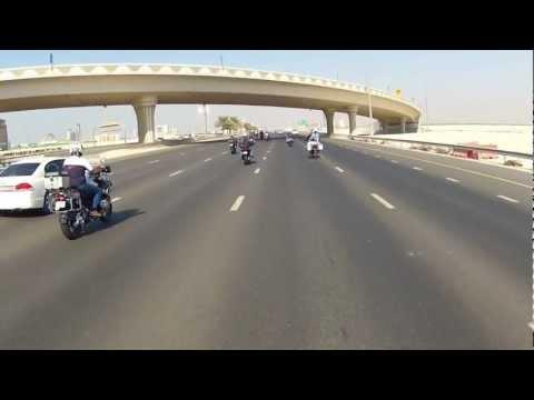 BMW Motorrad Ride in Dubai
