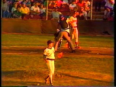 Greg Maddux pitches for Peoria 1985