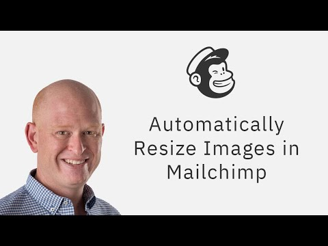 How to resize an image in Mailchimp