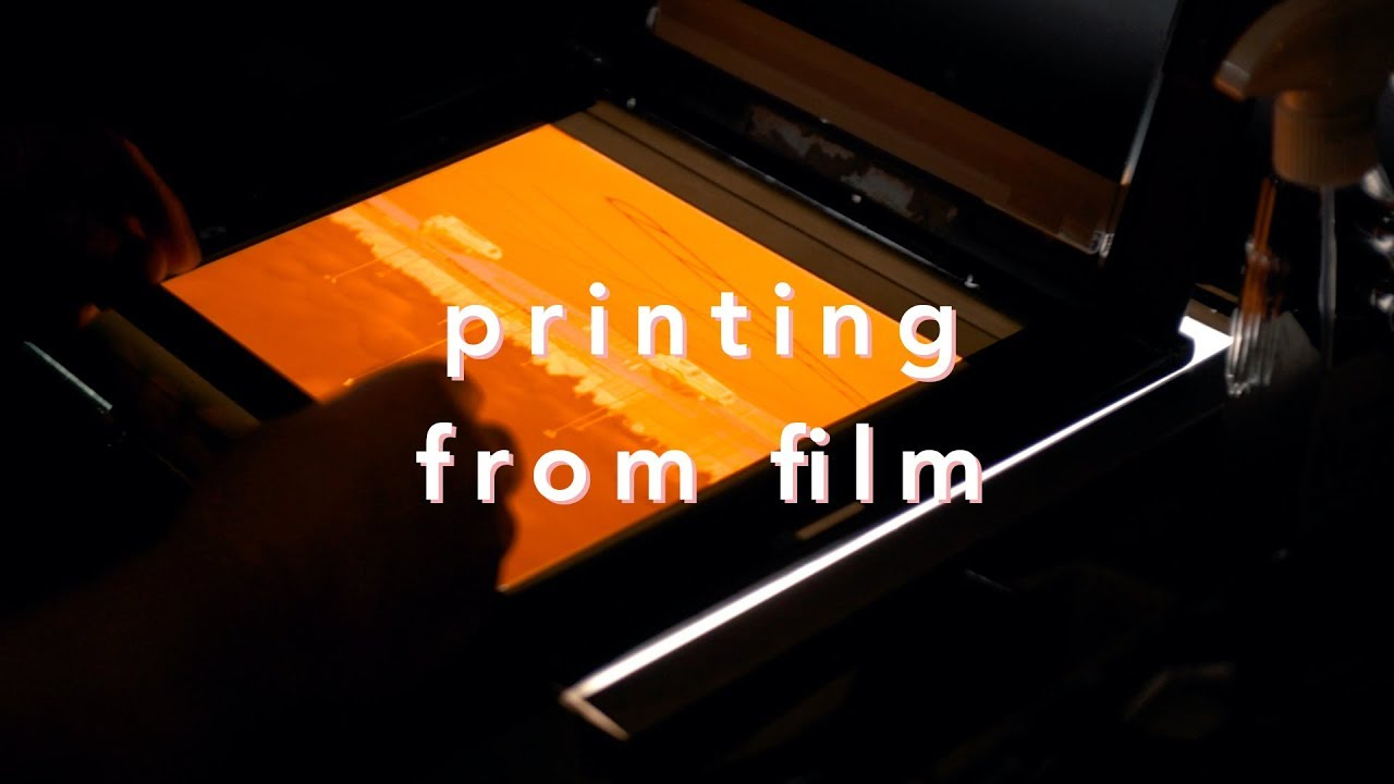 How To Print From Colour Film