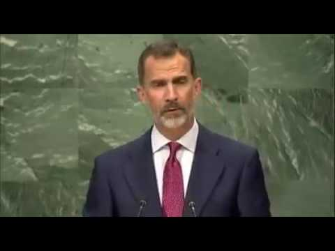 Gibraltar: Rey de España en la ONU. 20-09-2016