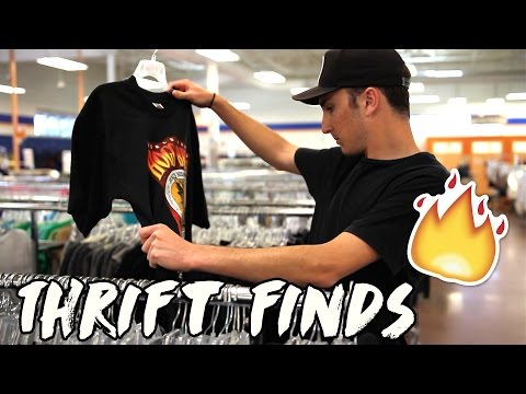 Thrift Finds Ep. 1 | Vintage Rock Shirts?!