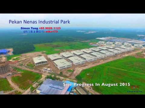 "Pekan Nenas Industrial (FreeHold)@Malaysia ISKANDAR. 北干那那工业园,位于马来西亚依斯干达特区 ""永久产权"