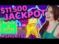 $11,000+ JACKPOT HANDPAY ON LIGHTNING LINK Hold & Spin Bonus #SHORTS