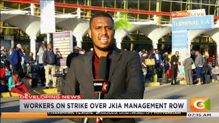 JKIA workers on strike over management row