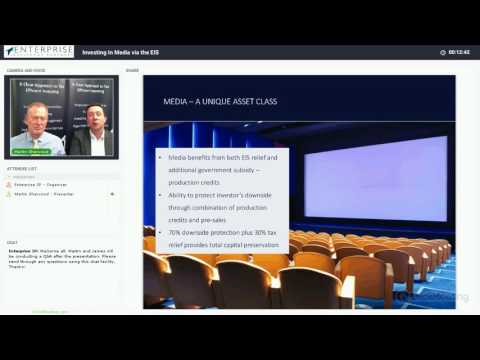 Investing in Media via the Enterprise Investment Scheme (EIS) | Martin Sherwood & James Swarbrick
