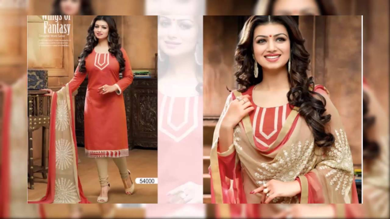 New dress collection for diwali for women - Diwali Special Trendy Chanderi Salwar Suit Latest Fashion Collection New Collection Dressess 2016