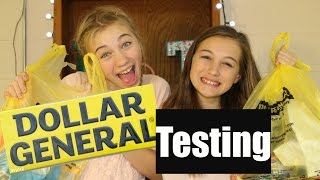 DOLLAR STORE PRODUCT TESTING | Evelyn and Titi