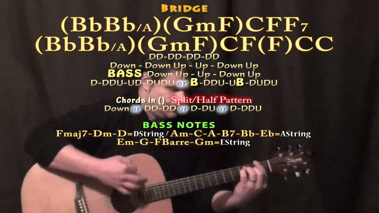 Hey Jude The Beatles Guitar Lesson Chord Chart Youtube