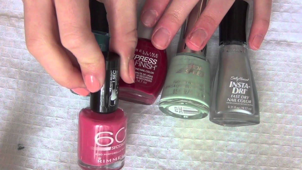 The Best: Fast drying nail polish, Ways to dry your nails and Nail ...