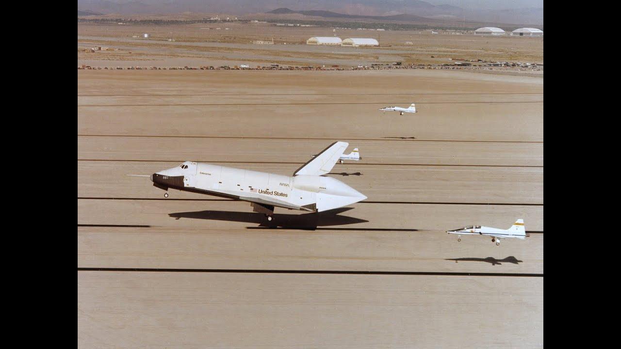 space shuttle enterprise landing - photo #41