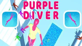 Purple Diver Gameplay - First Levels (1-5) - (iOS - Android)
