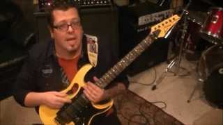 How to play Man In The Box by Alice In Chains on guitar by Mike Gross