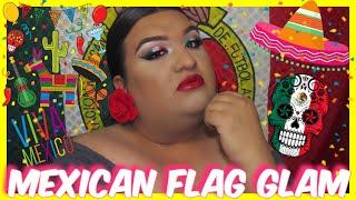 MEXICO FLAG MAKEUP TUTORIAL | JOVANY ROMO