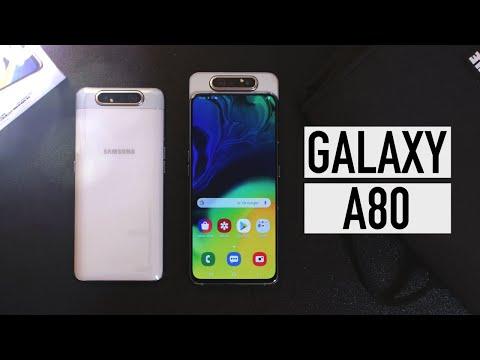 Samsung Galaxy A80, review: la innovación TIENE UN COSTE