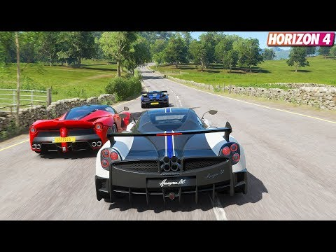 Forza Horizon 4 – Pagani Huayra BC | Goliath Race Gameplay