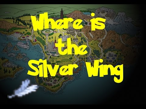 Where Is: The Silver Wing (Pokemon Silver)