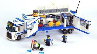как сделать из лего полицейский грузовик