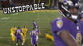 Lamar Jackson UNSTOPPABLE Highlights! | MVP Frontrunner! 🔥| Ravens vs Rams 11/25/201